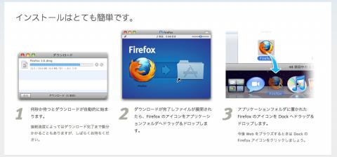 Firefox Mac 導入